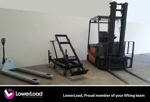 Lifting Tall Equipment with LowerLoad